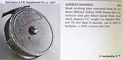 1- Superflex Shannon vintage Fly fishing