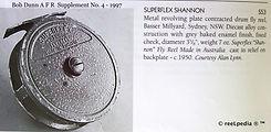 1- Superflex Shannon vintage Fly fishing