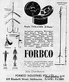 2-Forbco Vintage  Fishing Lure add