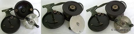 3- Steelite vintage sidecast fishing ree