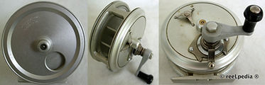 2- Crouch Cd 4 vintage fishing reel made