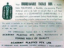 5-Academy Tackle Box made in Australia,c