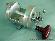 Silver anodised Magna-Flite vintage fishing reel