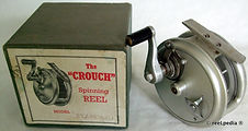 1- Crouch Cd 2 vintage fishing reel made