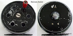 1- DAWSON JUNIOR vintage Fly reel made in Melbourne Australia