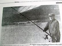 Albert Hall photographed fishing with hi