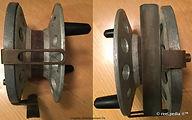4-Vintage Nottingham Workshop reel made in Australia