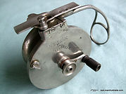 VELOX side-cast reel made in Australia. Extremely Rare model.