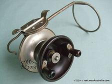 G E S vintage side cast fishing reel made in Australia