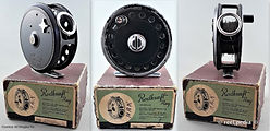 1- Dawson Fly reel D15 with original Box