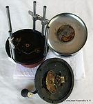 TARPON MINOR vintage game fishing reel made in Australia internal view