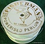4- FISHERMAN Brand PERLON vintage fishin