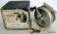 1- Crouch Cd 4 vintage fishing reel made