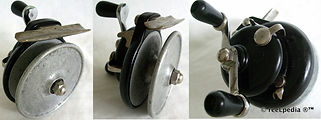 2-Vintage Steelite Fishkil fishing reel