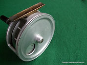 Crouch fishing reel, curved crank-handle modle.