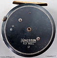 1- Kingston Fly fishing vintage reel mad