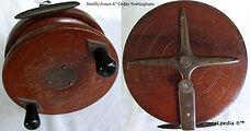 1-Wood reel cedar Smith Jones 6 inch_