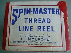 Spin-Mater Thread Line Reel original Box.
