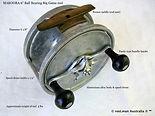 MAKOORA vintage Game fishing reel specif