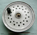 1- Monty vintage fly fishing  reel  made