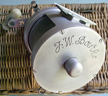 BOURKE vintage Game fishing reel made in Australia