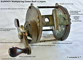 1- Game fishing reel Specfications, made