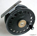 2- DAWSON Fly fishing vintage reel. Made