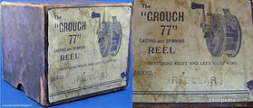 1-CROUCH 77 fishing reel early Box