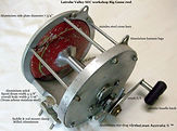 S E C vintage game fishing reel specific