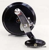 Clami Fly reel with new design single torpido handle knob.. Hard to find model.