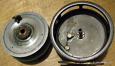 6- WALTON vintage Fly reel internal mech