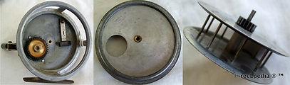 3- Crouch C7 vintage fishing reel intern