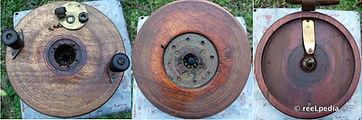 1- Wood reel Smith Jones Teak reel