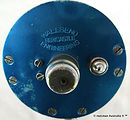 4- SEASCAPE vintage fishing reel Blue an