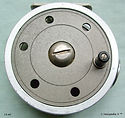 1- DAWSON FLY REEL 4'' raw Alloy finish