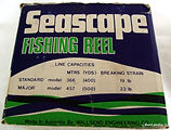 10- SEASCAPE L H wind vintage fishing re