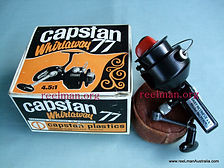 CAPSTAN vintage spinning reel with original Box Rare