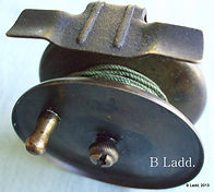 EBRO all brass trout fishing reel made in Australia by Rogers brothers, Melbourne. Extremely rare modle.