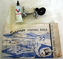 12- SEASCAPE 521 vintage fishing reel ac