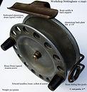 1- Vintage Workshop fishing reel made in Australia