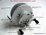 1- TAYLOR Sleeve bearing vintage fishing