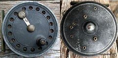 2-Fly reel Silver King made by Jack Crouch