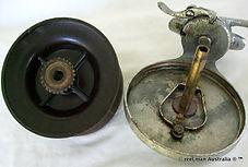 ALVEY wedge lock Flat crank vintage fishing reel