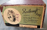 1-Dawson vintage Fly reel - Rodcraft box