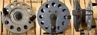 2-Vintage Nottingham Workshop reel made in Australia