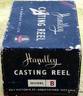 Handley Model B vintage Fishing reel Box