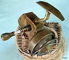 Vintage Brass Spinning reel made Bendigo ordnance factory