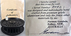 1-Goodwin Uncle Norm Fly reel Certificat