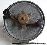 BARRIER vintage game fishing reel made i