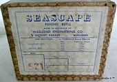 3- Seascape 521 vintage fishing reel box